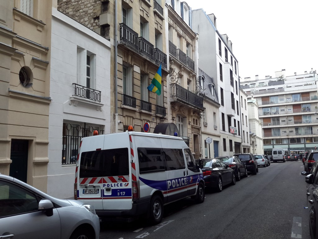 Ambassade Paris