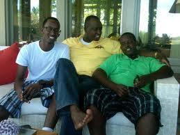Gasana n'abana ba Kagame muri Amerika