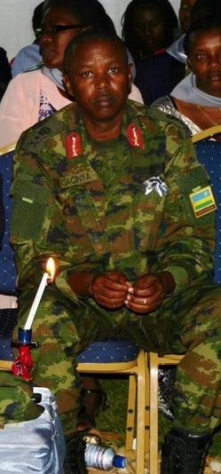 Uyu ni Brig Gen Rugumya GACINYA witiriwe Gereza y'i Gikondo aho abanyarwanda batagira ingano biciwe abandi bakicwa urubozo.