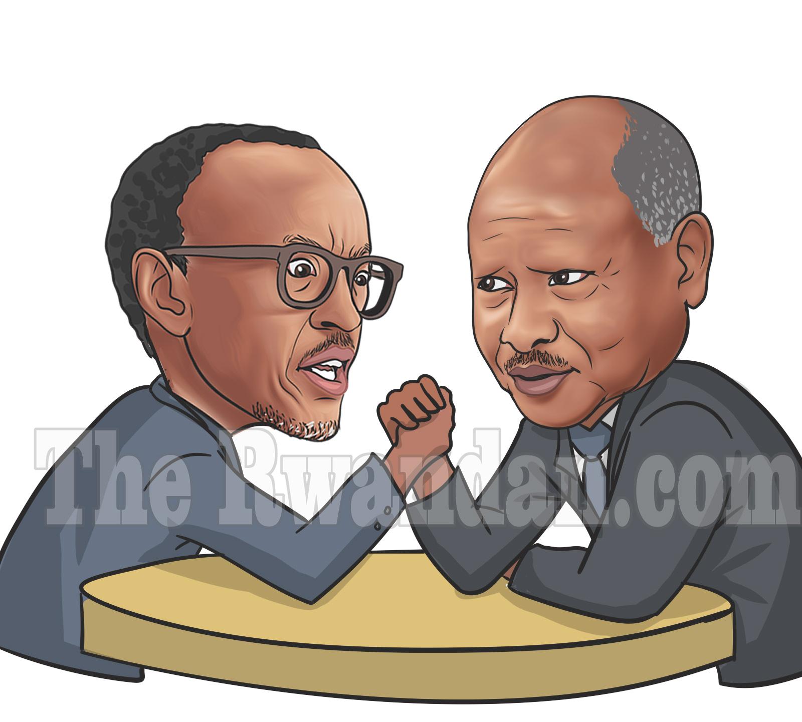 Who can win between Uganda and Rwanda at war?   Therwandan