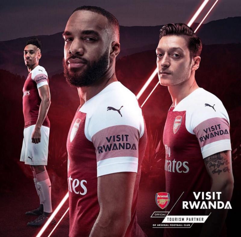 Image result for arsenal rwanda