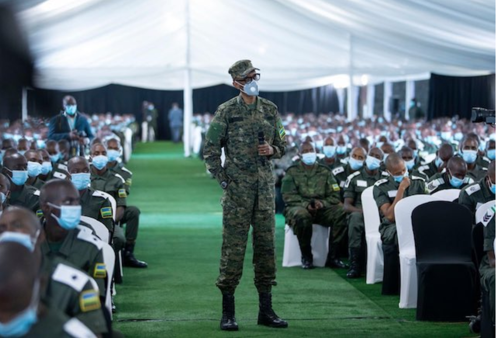 END OF YEAR MESSAGE FROM H.E. THE PRESIDENT AND COMMANDER-IN-CHIEF TO RWANDA'S  DEFENCE AND SECURITY FORCES | Therwandan